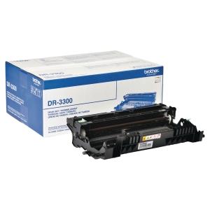 Tambor laser BROTHER preto DR-3300 para HL-5440D/5450DN/5470DW/6180DW/DCP8110DN