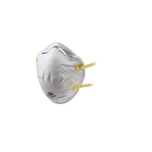Caixa de 20 máscaras descartáveis moldáveis 3M 8710 FFP1 sem válvula