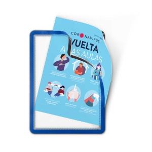 Pack de 2 capas adesivas AK TARIFOLD azul
