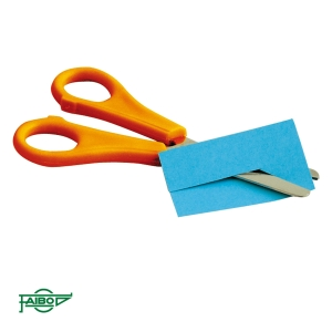 Tesoura escolar para canhotos FAIBO 135cm cores sortidas