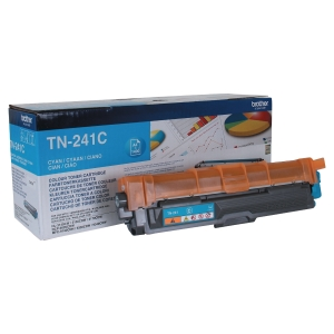 Toner laser BROTHER cianoTN-241C para HL3140CW/DCP9020CDW/DCP9140CDN/MFC9330