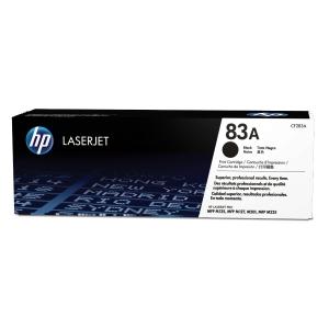 Toner laser HP 83A preto CF283A para Pro M125/M127 MFP
