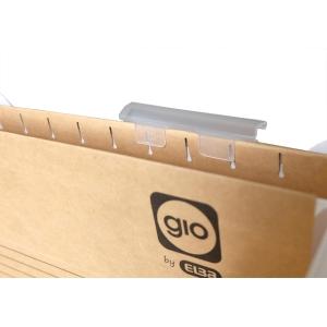 Pack de 25 visores Gio By Elba para pastas de suspensão