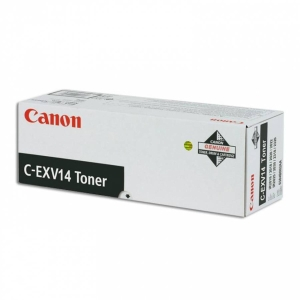 Toner laser CANON preto CEXV14 para IR2016/2018/2020/2022/2025/2030