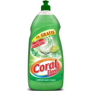 Detergente líquido CORAL 1,25l