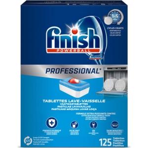 Pack de 125 pastilhas para máquina de lavar loiça FINISH
