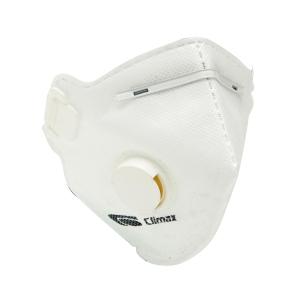 Caixa de 12 máscaras CLIMAX 1710V FFP1 dobradas com válvula