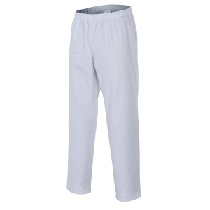 Calças VELILLA 190gr 65/35 branco L