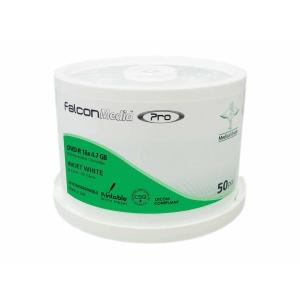Bobina de 50 DVD-R FALCON 80  4,7 Gb para impressora de tinta