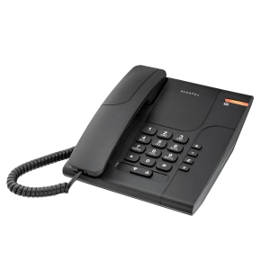 Telefone analógico ALCATEL Temporis 180 preto