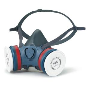 Meia máscara reutilizável de protecção respiratória MOLDEX Série 7000 tamanho M