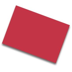 Pack de 25  cartolina FABRISA 50x65 185g/m2  vermelho