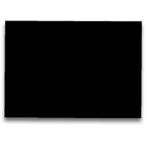 Pack de 25  cartolina FABRISA 50x65 185g/m2  preto