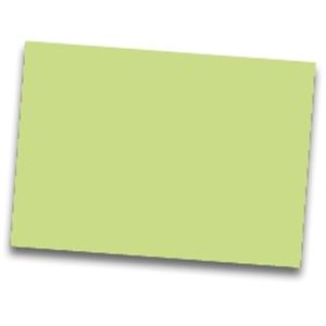 Pack de 25  cartolina FABRISA 50x65 185g/m2  verde claro
