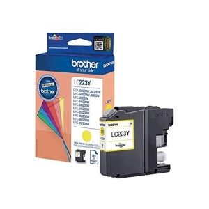 Tinteiro  BROTHER amarelo LC223Y para J562DW/J4120DW