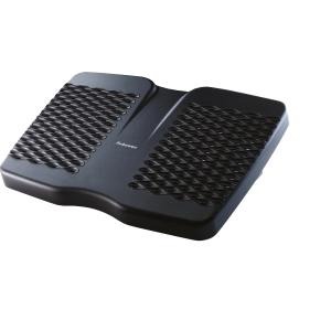 Repousa-pés de poliestireno FELLOWES Refresh preto