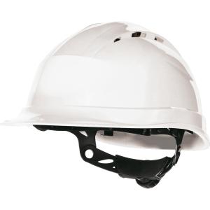 Capacete de segurança DELTAPLUS Quartz Up IV branco ventilado