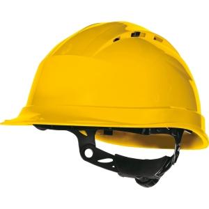 Capacete de segurança DELTAPLUS Quartz Up IV amarelo ventilado