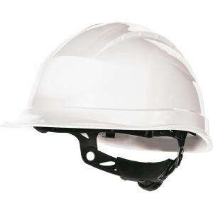 Capacete de protecção DELTAPLUS Quartz Up III branco não ventilado