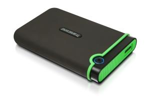 Disco rígido externo de 2,5   TRANSCEND Storejet 25M3 USB 3.0 de 1 Tb