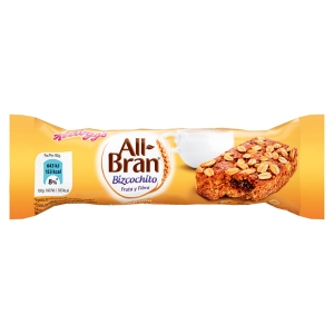 Caixa de 24 bolachas KELLOGS ALL BRAN 40g