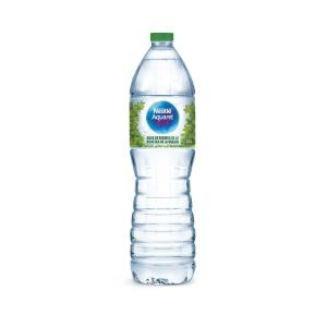 Pack de 12 garrafas de 1,5 l de água NESTLE AQUAREL
