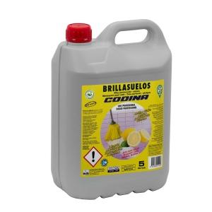 Detergente líquido para chão efeito brilhante com aroma cítrico CODINA 5l