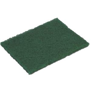 Pack de 10 esfregões cortados verdes abrasão intermédia VILEDA