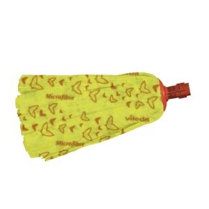 Esfregona industrial suave para chão delicado amarela