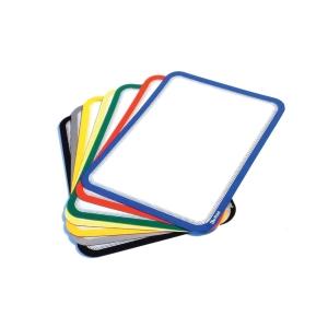 Pack de 2micas magnéticas TARIFOLD A4 PVC amarelo