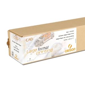Rolo de papel de Plotter CAD Canson 90g 914mmx50m
