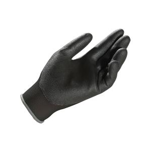 Par de luvas de protecção mecânica MAPA poliuretano preto tamanho 8