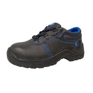 Sapatos de segurança CHINTEX 1026 S3 pele flor preta tamanho 41