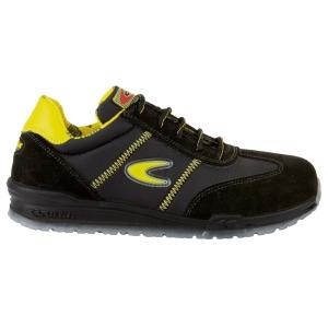 Sapatos de segurança COFRA Owens pele pretos tamanho 43