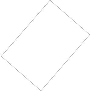 Pack de 50 cartolinas FABRISA A4 180g/m2 cor branco
