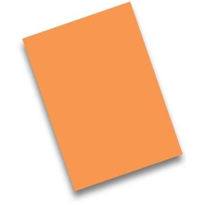 Pack de 50 cartolinas FABRISA A4 170g/m2 cor laranja