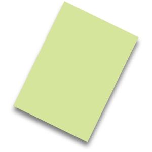 Pack de 50 cartolinas FABRISA A4 170g/m2 cor verde claro