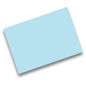 Pack de 50 cartolinas FABRISA A4 170g/m2 cor azul céu