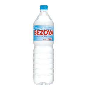 Pack de 12 garrafas de água sem gás BEZOYA 1,5l