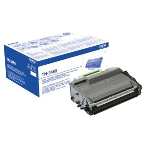 Toner laser BROTHER 8K preto TN3480