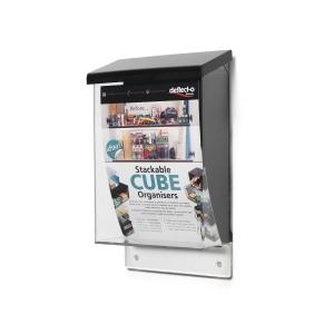 Caixa de de sugestões DEFLECTO A5 vertical  80x175x285mm
