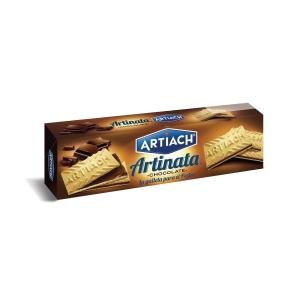 Pacote de bolachas Artiach Artinata - 210 g - chocolate