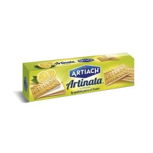 Pack de bolachas ARTIACH Artinata sabor limão 210g