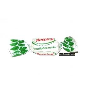 Bolsa de 1kg de caramelos RESPIRAL eucalipto mentolado