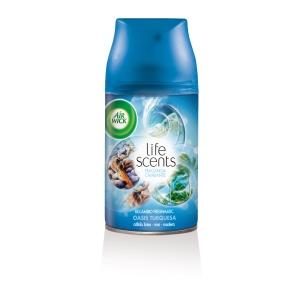 Recarga para ambientador AIR WICK FreshmaticMax LifeScents Oasis Turquesa