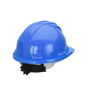 Capacete de segurança com roda CLIMAX 5RG azul não ventilado