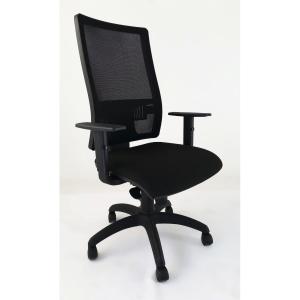 Cadeira operativa Lgt mecanismo sincronizado regulável em altura e apoio lombar