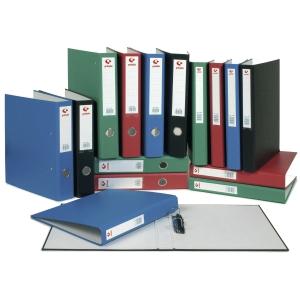 Dossier de 2 argolas mistas 25mm folio lombada 42mm Grafcor GRAFOPLAS vermelho