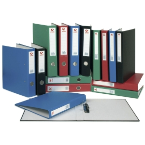 Dossier de 2 argolas mistas 40mm folio lombada 58mm Grafcor GRAFOPLAS azul