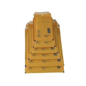 Pack de 10 bolsas com borbulha AROFOL 100x165mm cor kraft nº 11
